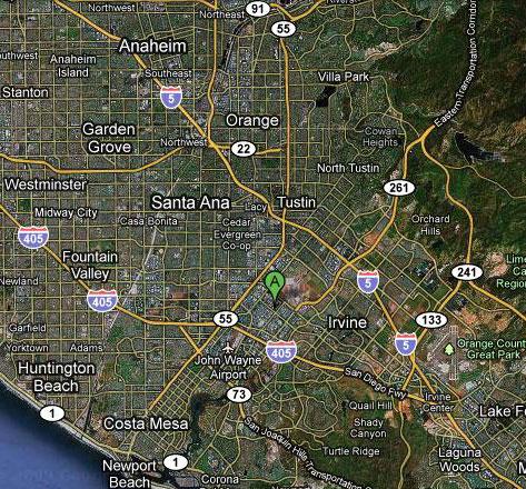 Where Is Irvine California On California Map.Asian Food Near Me